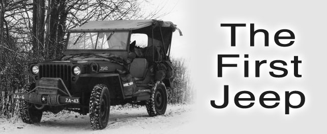 The first willys jeep