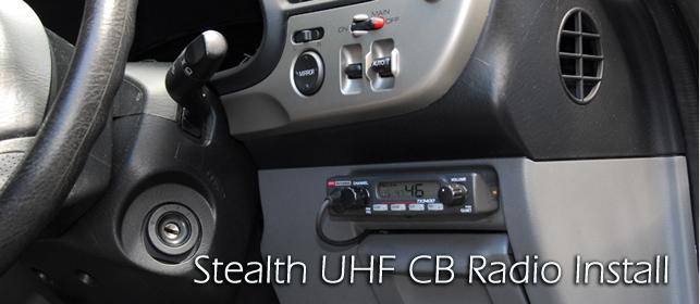Uhf cb Radio Install