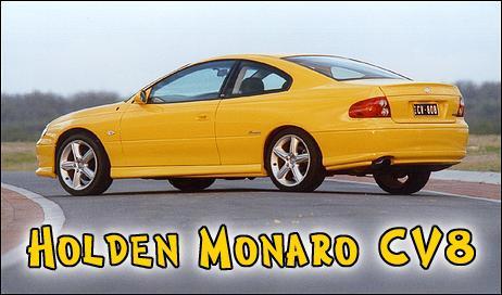 Holden Monaro Cv8z. Test - Holden Monaro CV8