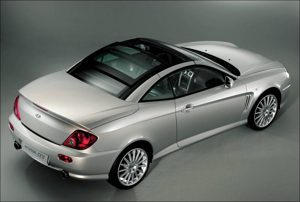 Hyundai Tiburon 2004. Hyundai Tiburon CCS Unique