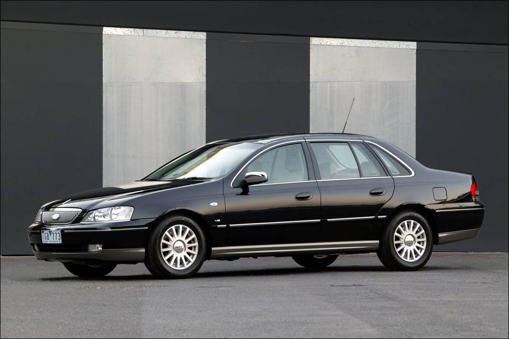 2005 Ford Ba Fairlane G220 Mkii. 2005 Ford BA Fairlane G220