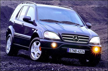 <b>Mercedes</b>-Benz Unleashes <b>ML 55</b>