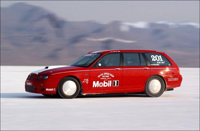 MG ZT-T: Fastest Wagon in the World